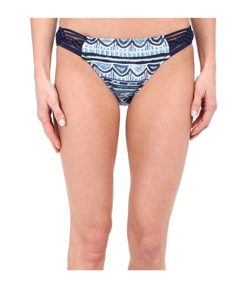 Nanette Lepore - Santorini Scallop Charmer Bottoms (Indigo) Women's Swimwear