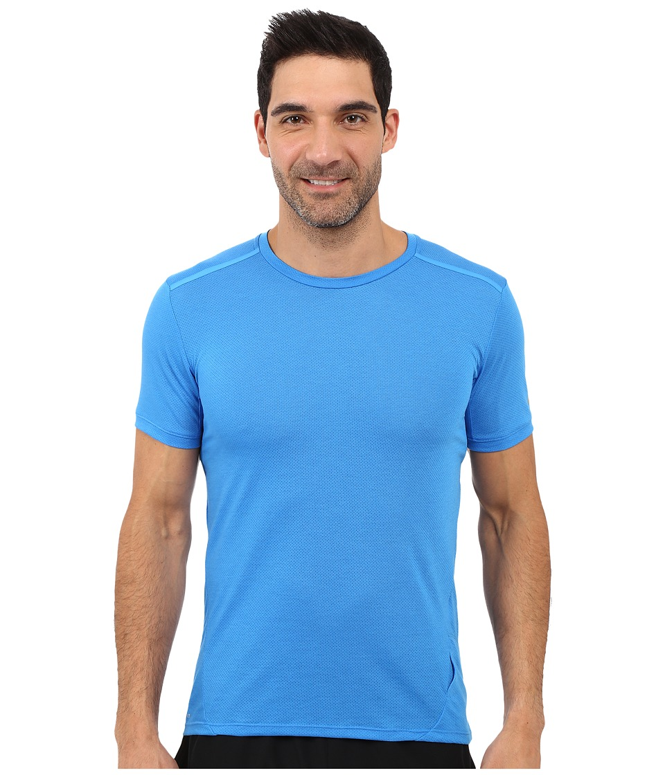 Nike Dri-FITtm Cool Tailwind Running Shirt (Light Photo Blue/Reflective Silver) Men