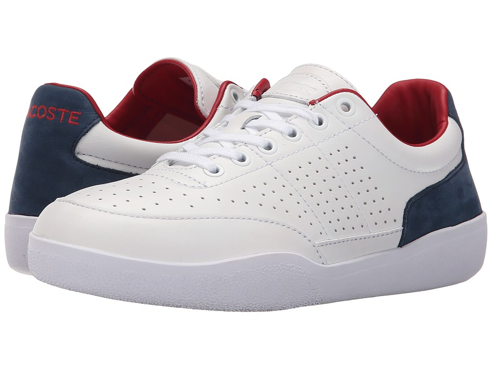 Lacoste - Dash 116 1 (White) Men's Shoes