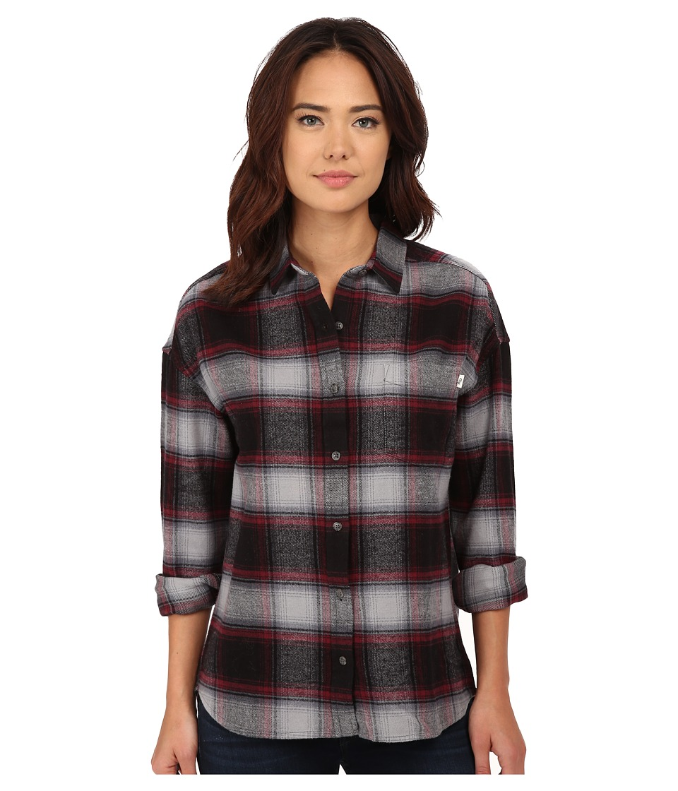 Obey - Garnet Peak Button Down (Black Multi) Women's Long Sleeve Button Up