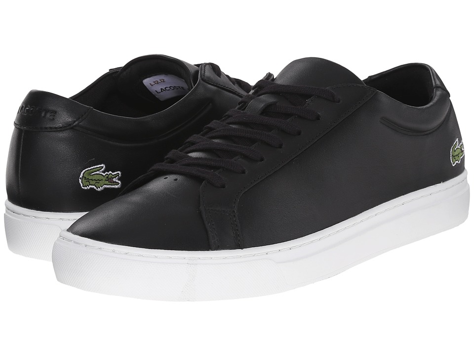 Lacoste - L.12.12 116 1 (Black) Men's Shoes