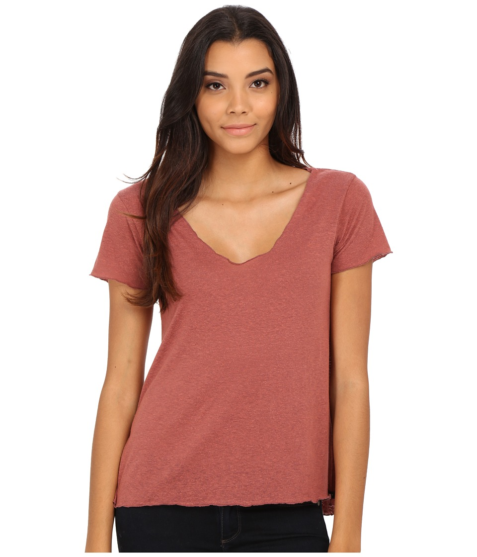 Obey Dylan Tee (Heather Cowhide) Women