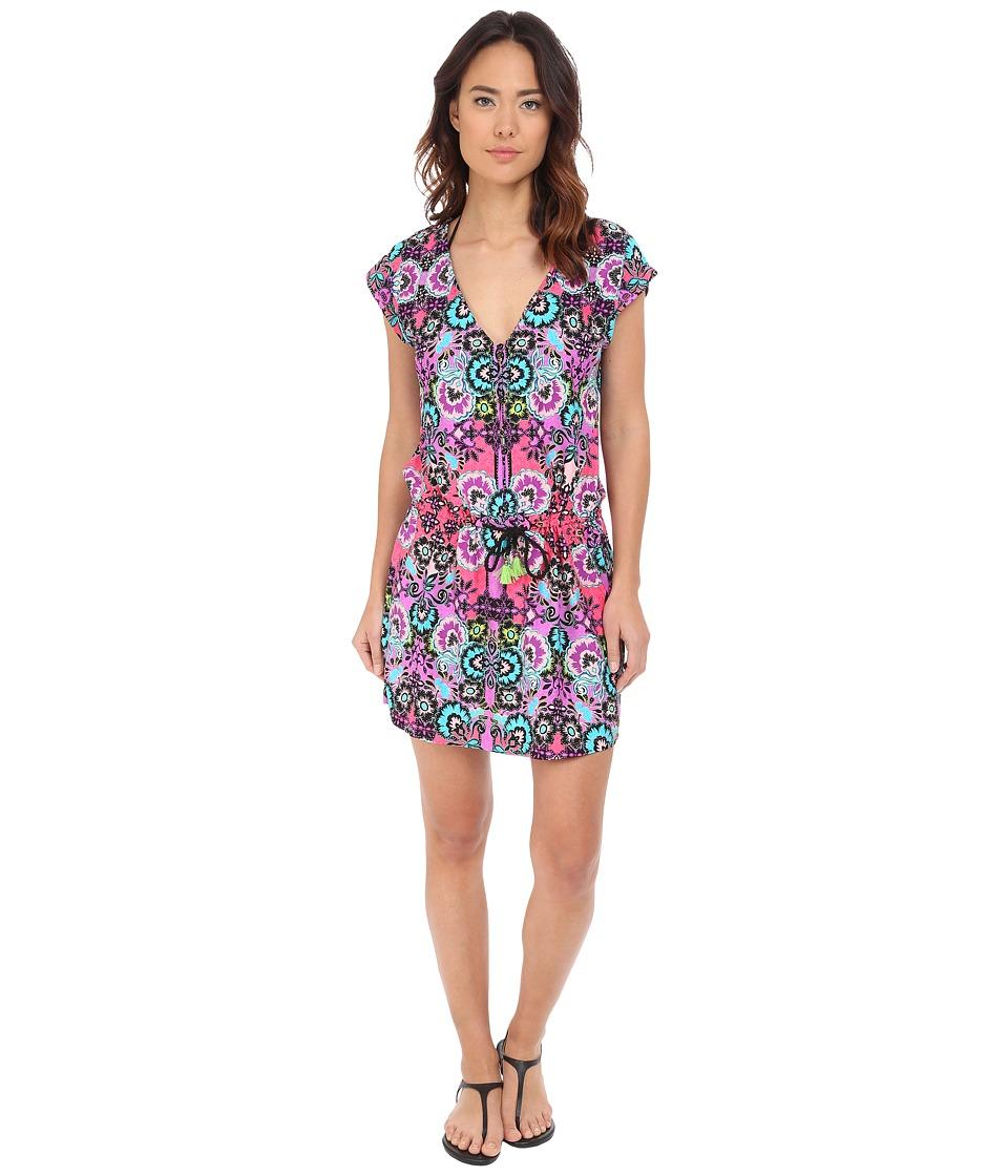 54d13b9f409c6 744743696723. Nanette Lepore - Bali Batik Short Sleeve ...