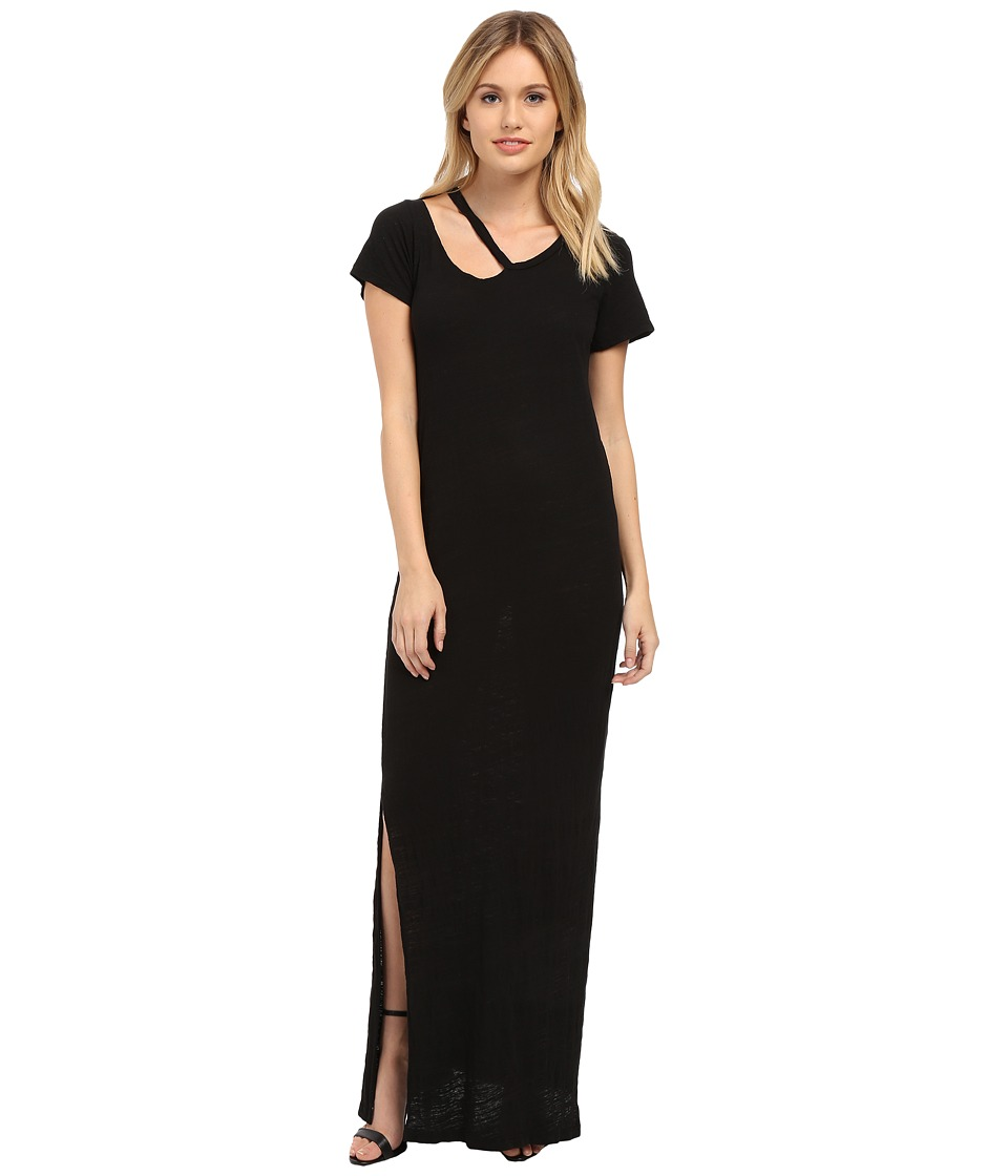 LNA - Desert Crew Maxi (Black) Women's Dress