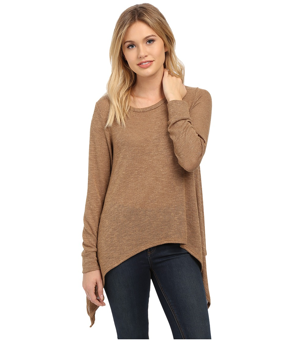 LNA - Ribbon Tie Sweater (Camel) Women's Sweater