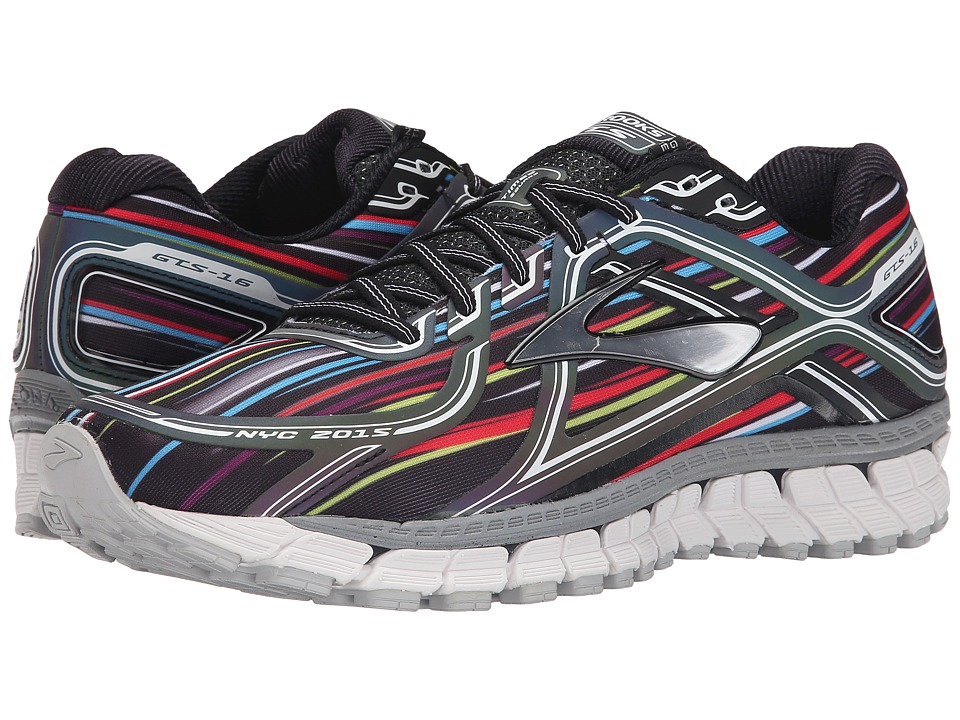 Brooks - Adrenaline GTS 16 (Black/Silver/White) Men's Running Shoes
