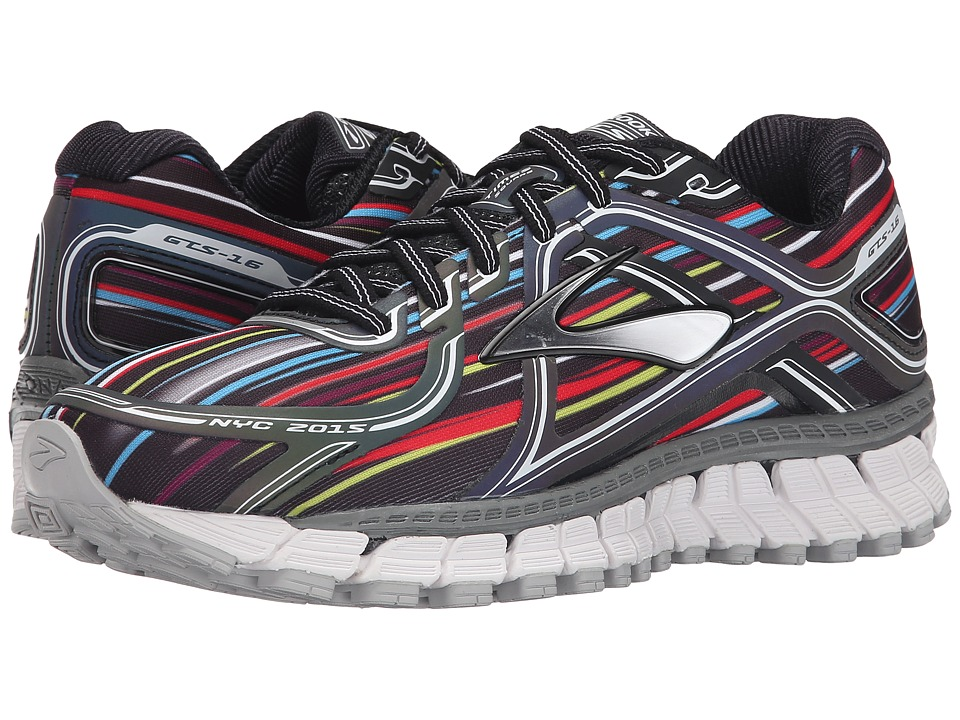 Brooks - Adrenaline GTS 16 (Black/Silver/White) Women's Running Shoes