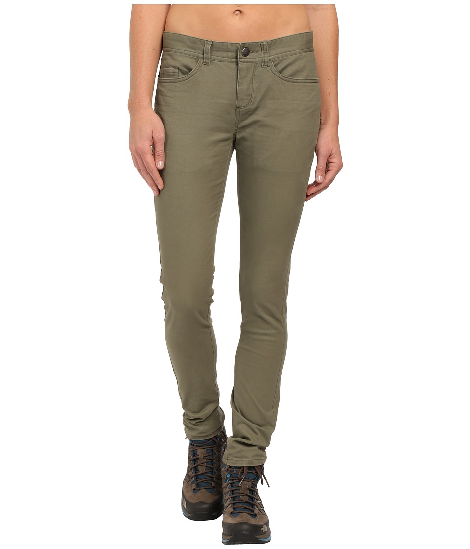 Mountain Hardwear Sojourner Twill Pants (Stone Green) Women