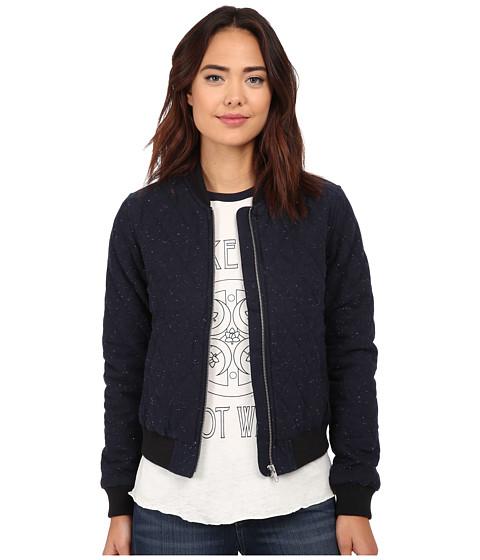 Obey - Rumson Jacket (Heather Navy) Women's Coat