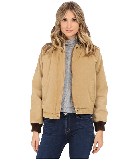 Obey - Fort Dodge Jacket (Bone Brown) Women