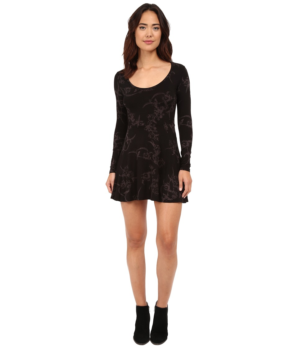 Obey - Jackie Dress (Black Multi) Women's Dress