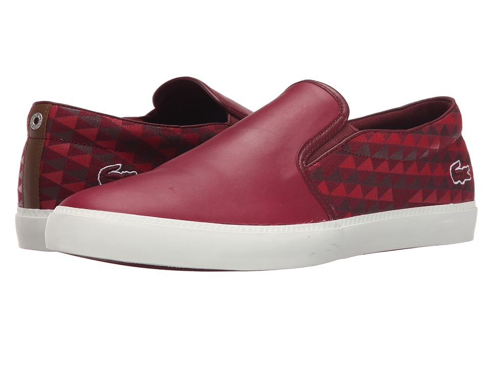 Lacoste - Gazon 116 1 (Dark Red) Men
