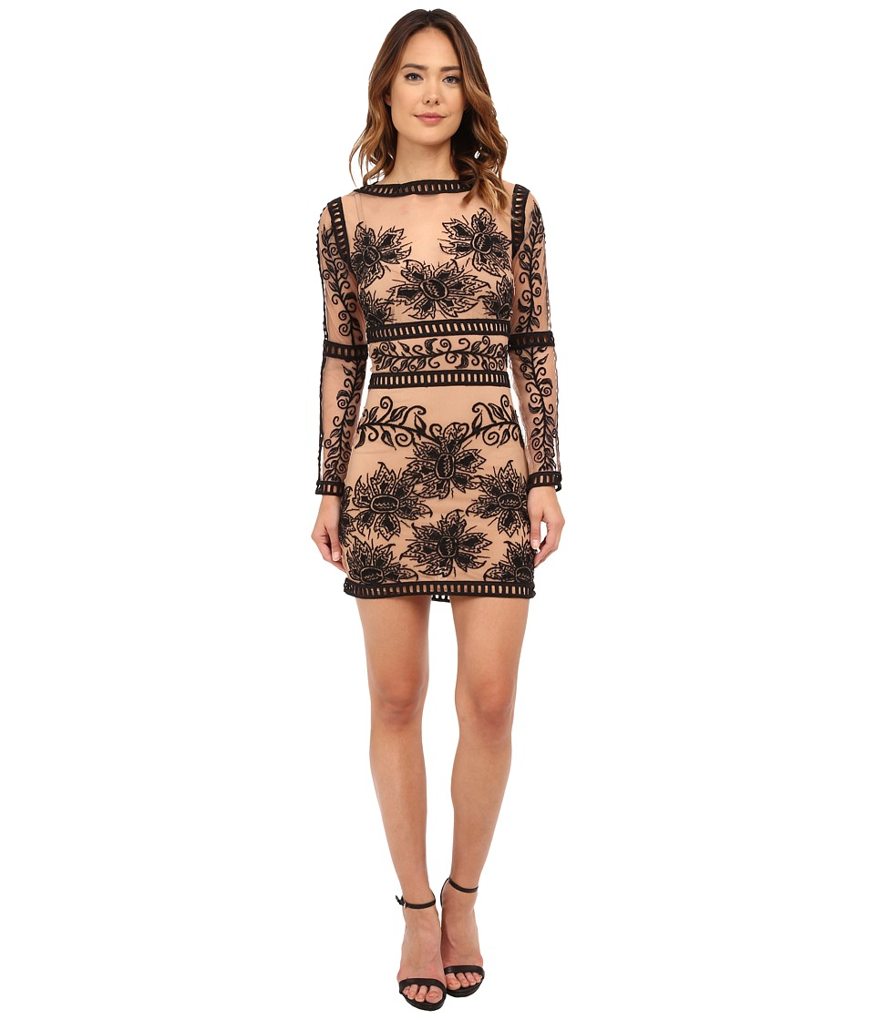 For Love and Lemons - Desert Nights Mini Dress (Black) Women's Dress