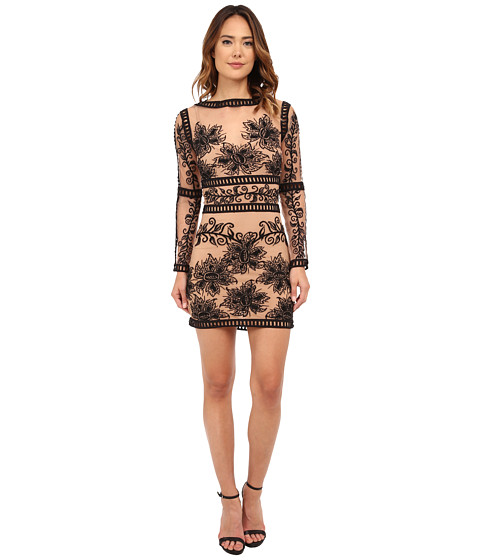 For Love and Lemons - Desert Nights Mini Dress (Black) Women