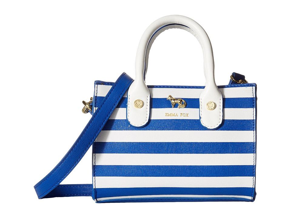 Emma Fox - Hudson Mini Tote (Blue Crush) Tote Handbags