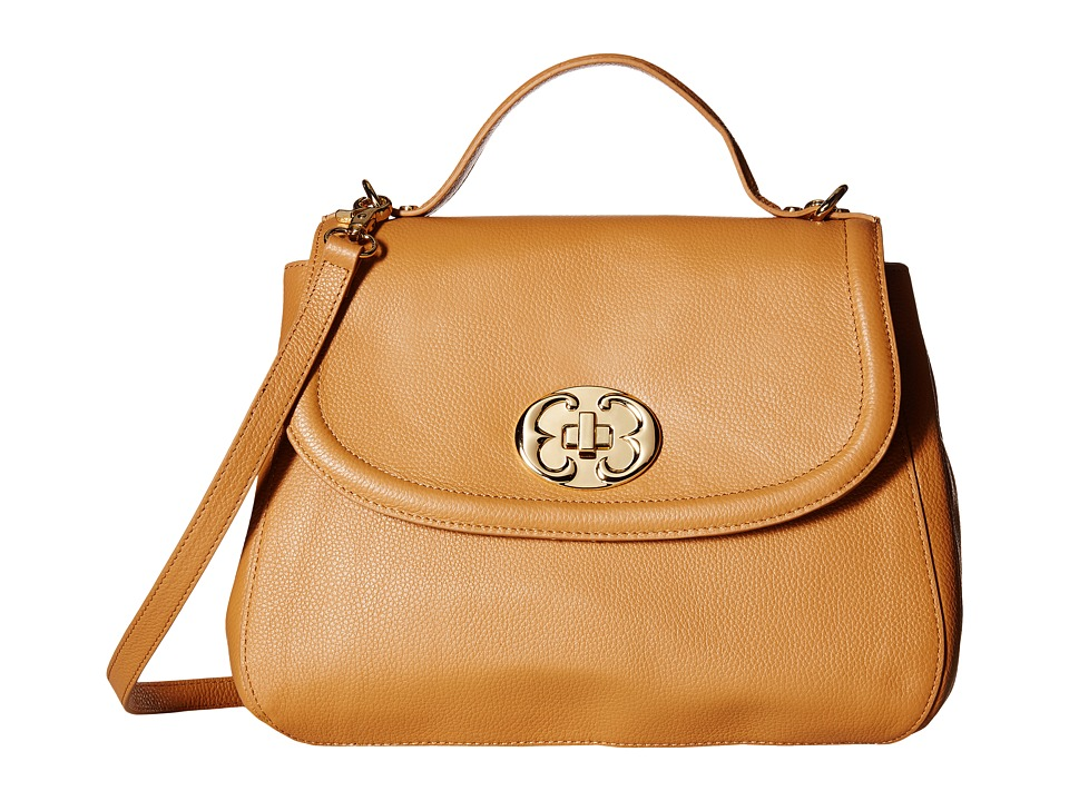 Emma Fox - New Classics Top Handle Leather (Camel) Top-handle Handbags