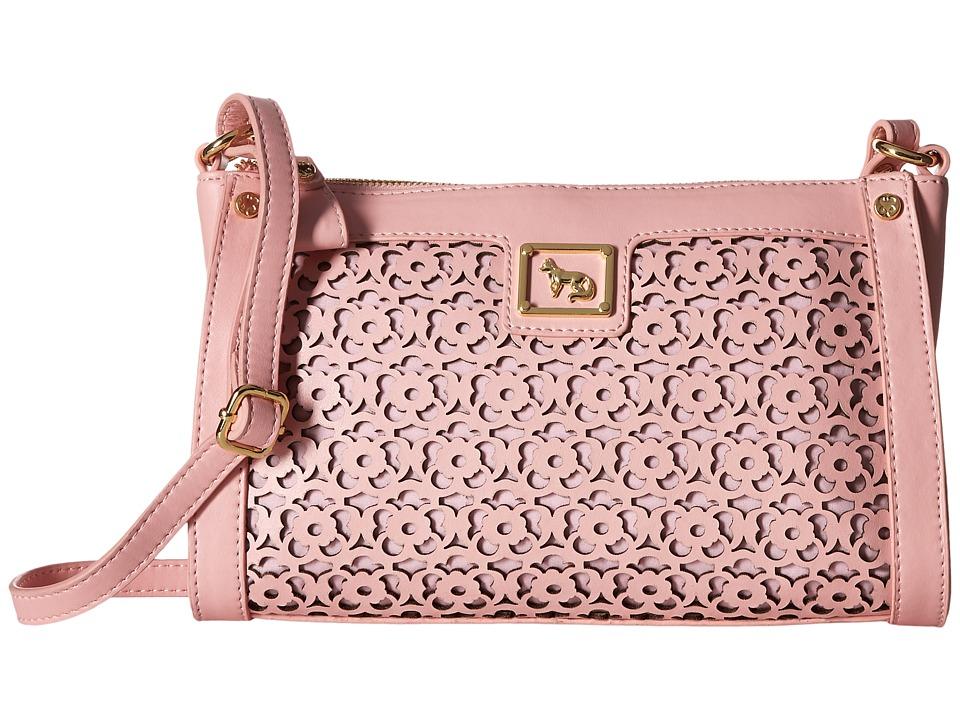 Emma Fox - Forsyth East/West Crossbody (Pale Pink) Cross Body Handbags