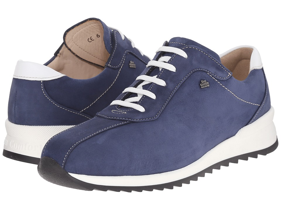 Finn Comfort - Sarnia (Denim/Weiss) Women's Lace up casual Shoes