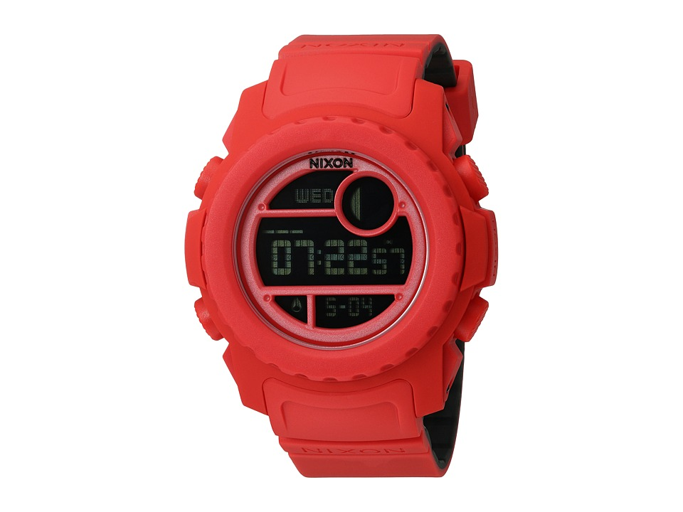Nixon - Super Unit (All Red) Digital Watches