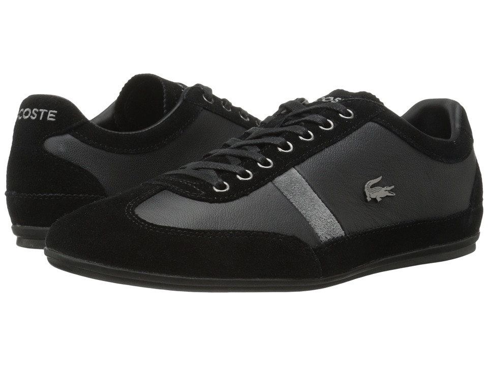 Lacoste - Misano 22 LCR (Black) Men's Shoes
