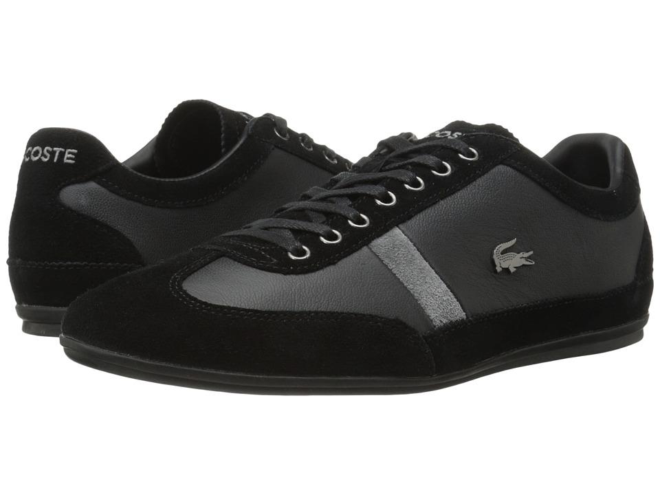 Lacoste - Misano 22 LCR (Black) Men's Shoes