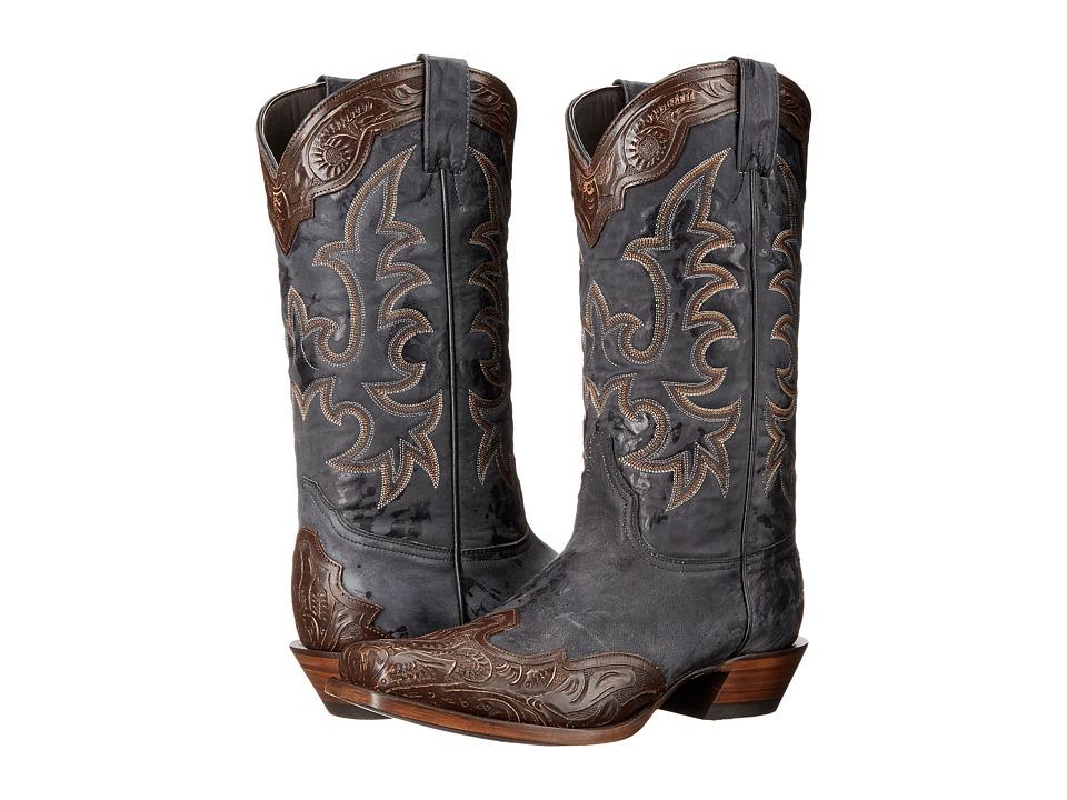 Stetson - Aurora (Oiled Brown Vamp) Cowboy Boots