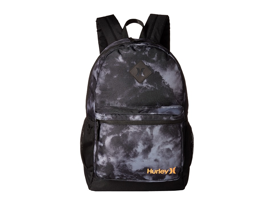 Hurley - Mater Backpack (Black/Black/Total Orange) Backpack Bags
