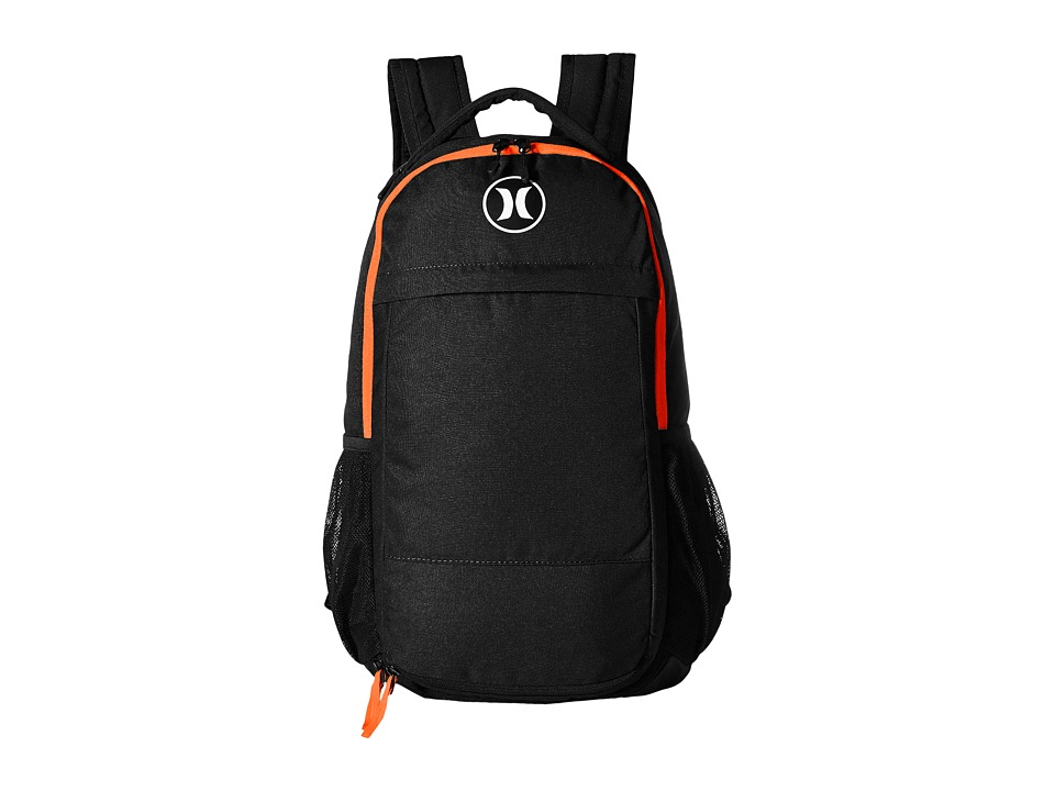 Hurley - Fusion Backpack (Black/Total Orange/White) Backpack Bags