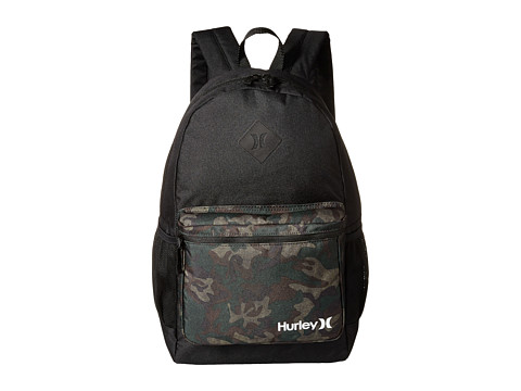 Hurley - Mater Printed Backpack (Black/Iguana/Black Forest/Turkish Coffee/White) Backpack Bags