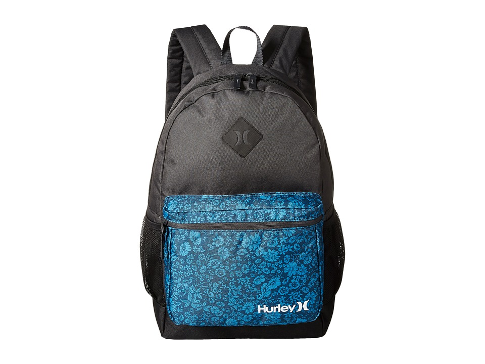 Hurley - Mater Printed Backpack (Antracite/Photo Blue/Black/White) Backpack Bags