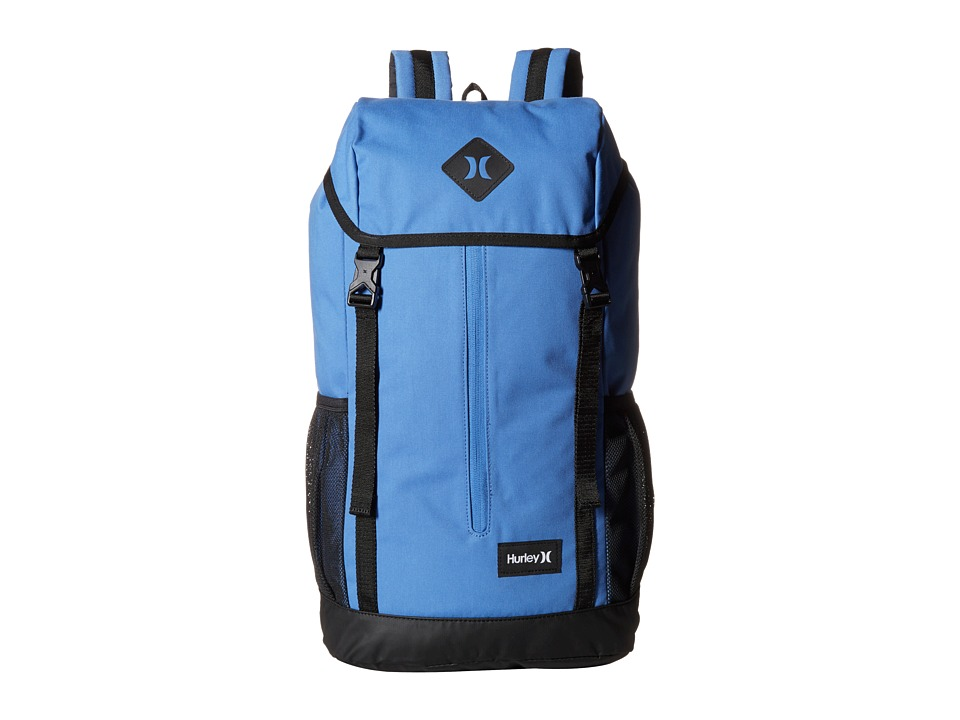 Hurley - Daley Backpack (Light Game Royal/Black/White) Backpack Bags