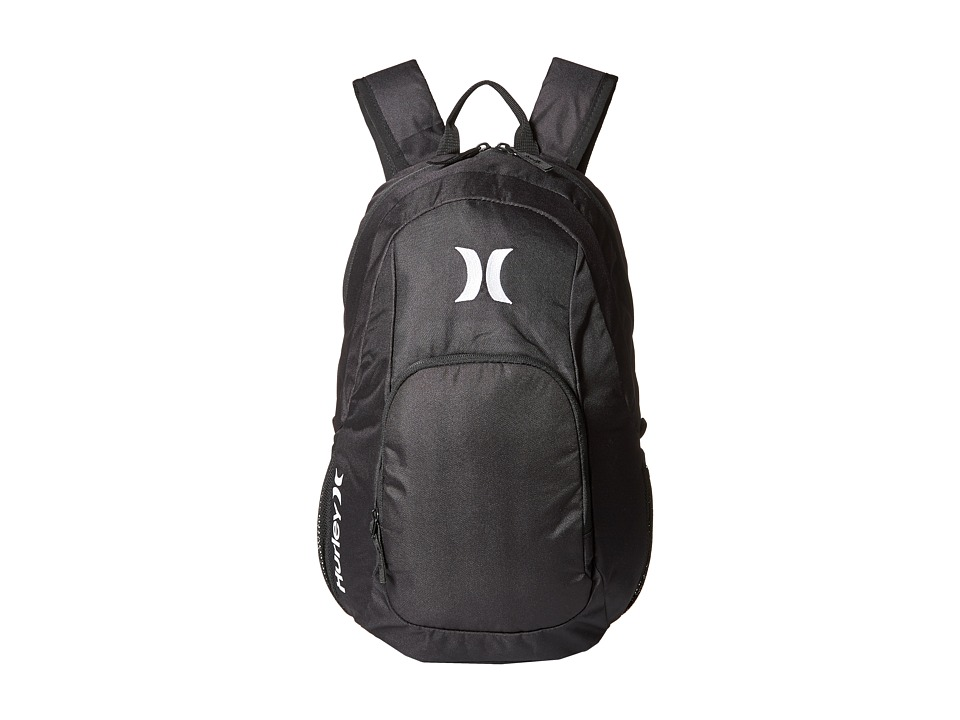 Hurley - One Only Backpack (Black/White) Backpack Bags