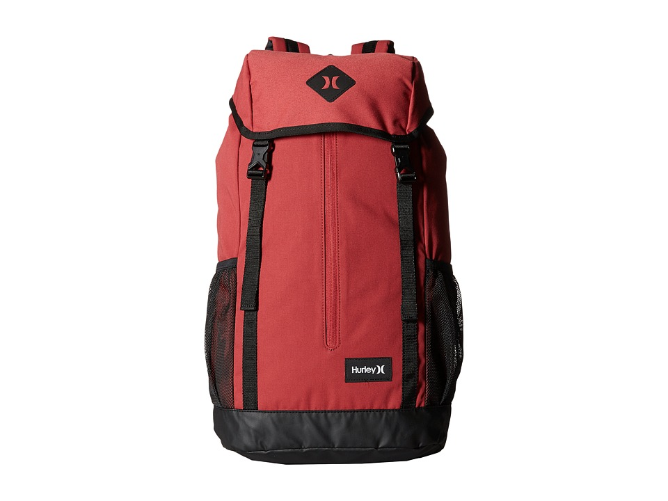Hurley - Daley Backpack (Light Gym Red/Black/White) Backpack Bags
