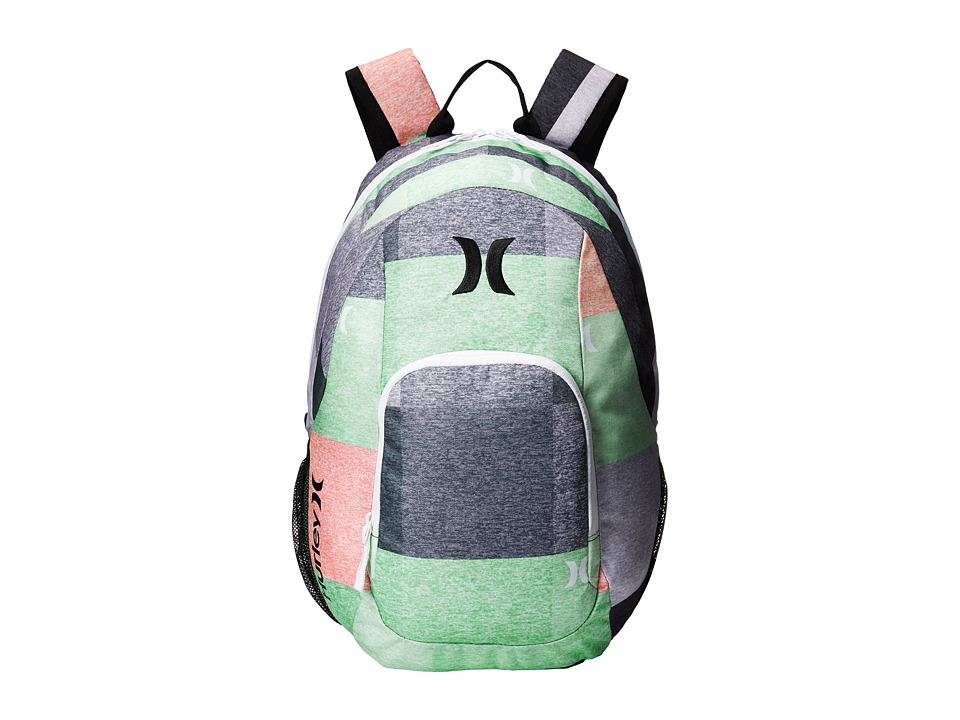 Hurley - One and Only Backpack (Multi/White/Black) Backpack Bags