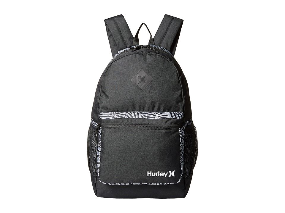 Hurley - Mater Backpack (Black/White/White) Backpack Bags