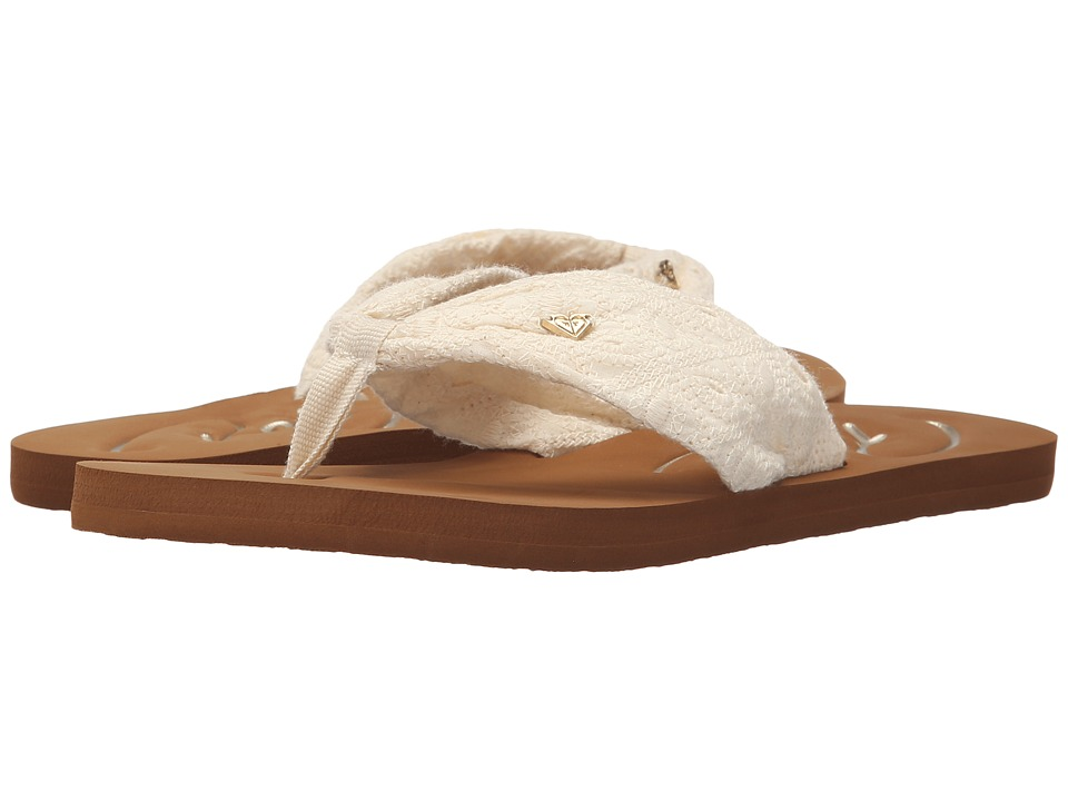 Roxy - Caribe II (Cream) Women's Sandals