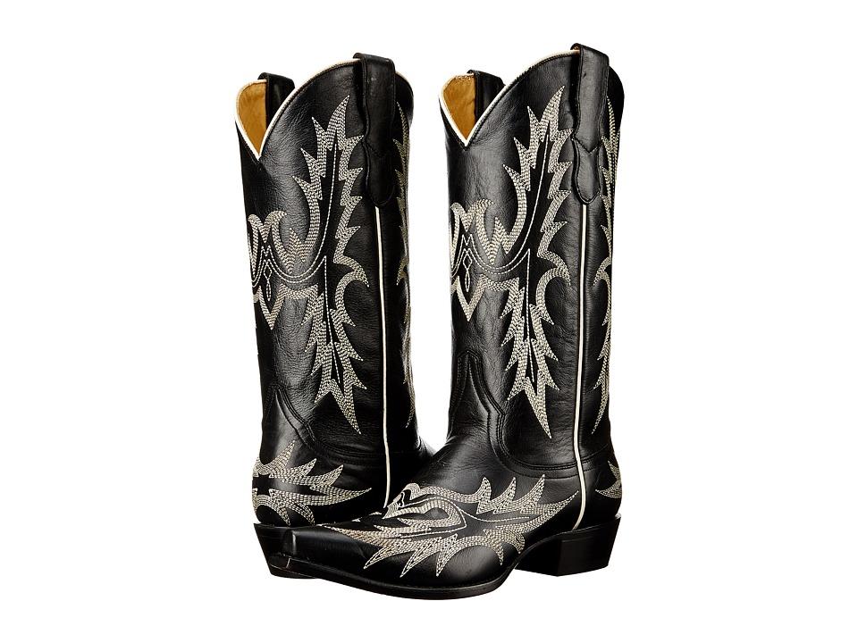 Stetson - Tina (Black) Cowboy Boots