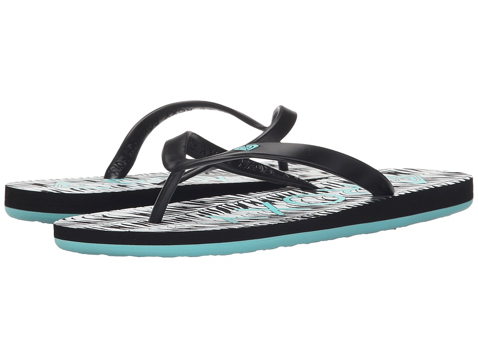 Roxy - Tahiti V (Black/Aqua) Women's Shoes