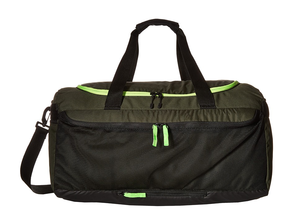 Hurley - Fusion Duffle (Green/Voltage Green/White) Duffel Bags