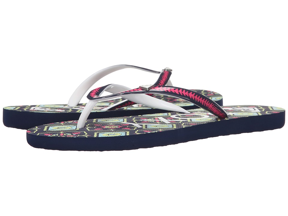 Roxy - Mimosa (Black/Pink/Black) Women's Sandals