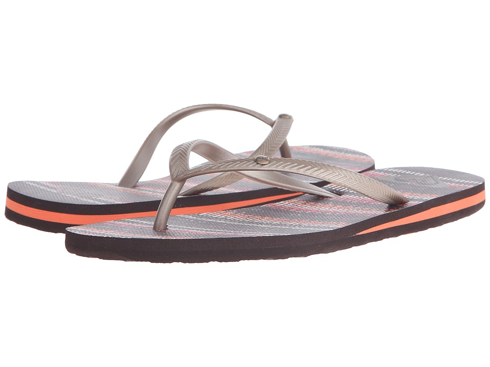 Roxy - Bermuda (Brown Combo) Women's Sandals