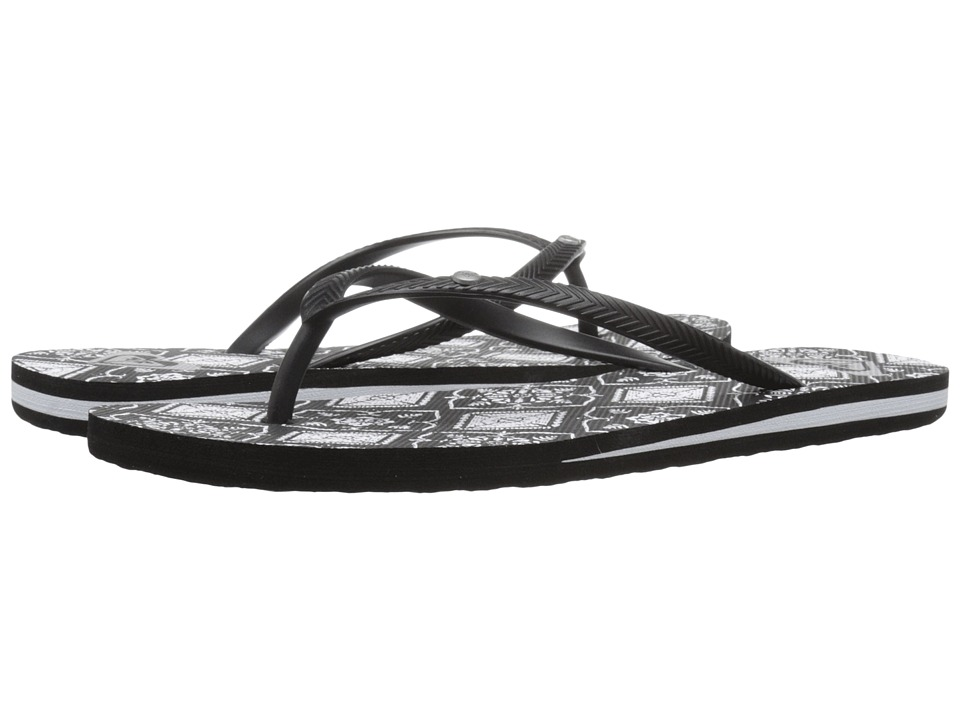 Roxy - Bermuda (Black/Armor) Women's Sandals