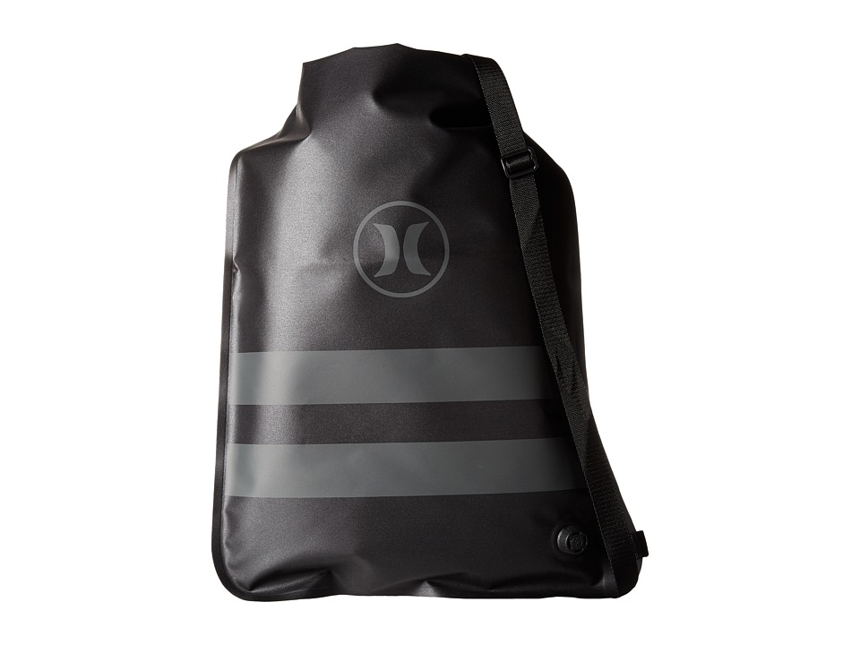Hurley - Phantom Roll Top Cinch Sack (Sack Black/Anthracite) Bags