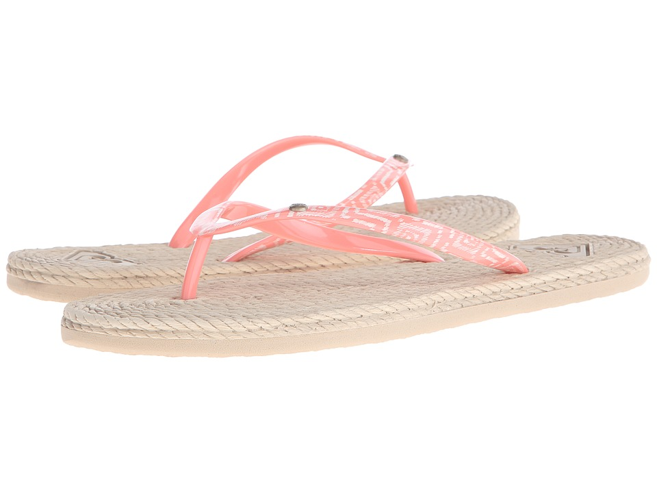 Roxy - South Beach (Peach Cream) Women's Sandals