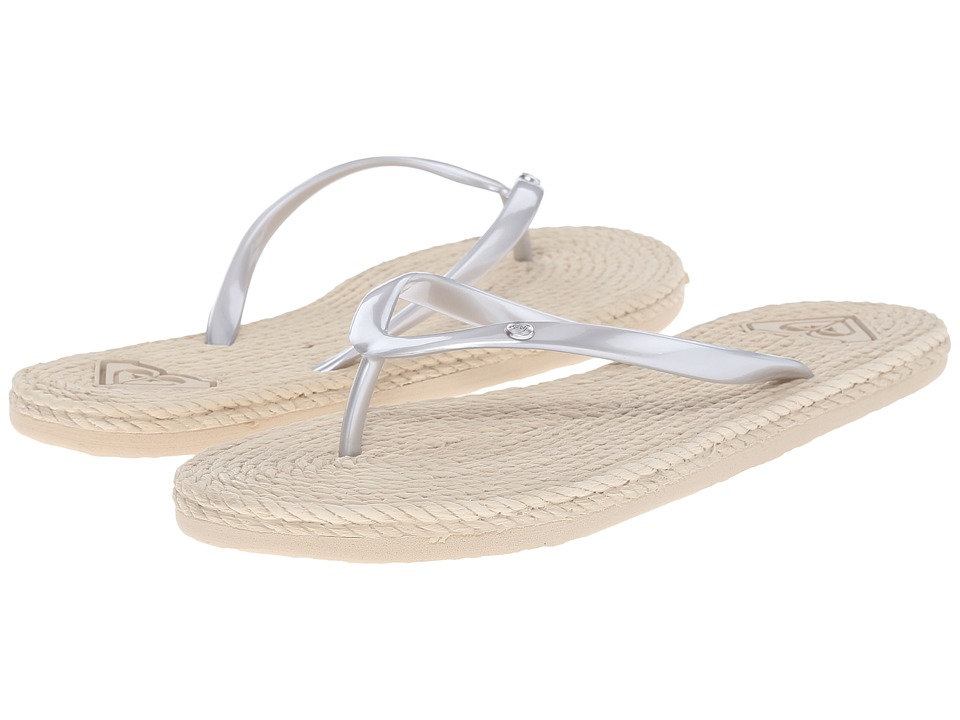 Roxy - South Beach (Silver) Women's Sandals