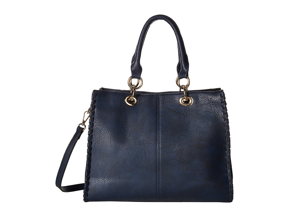 Gabriella Rocha - Melanie Purse (Navy) Satchel Handbags
