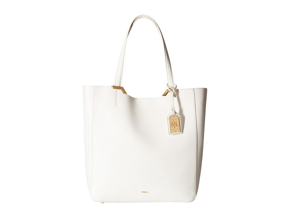LAUREN Ralph Lauren - Acadia Tote (Vanilla) Tote Handbags