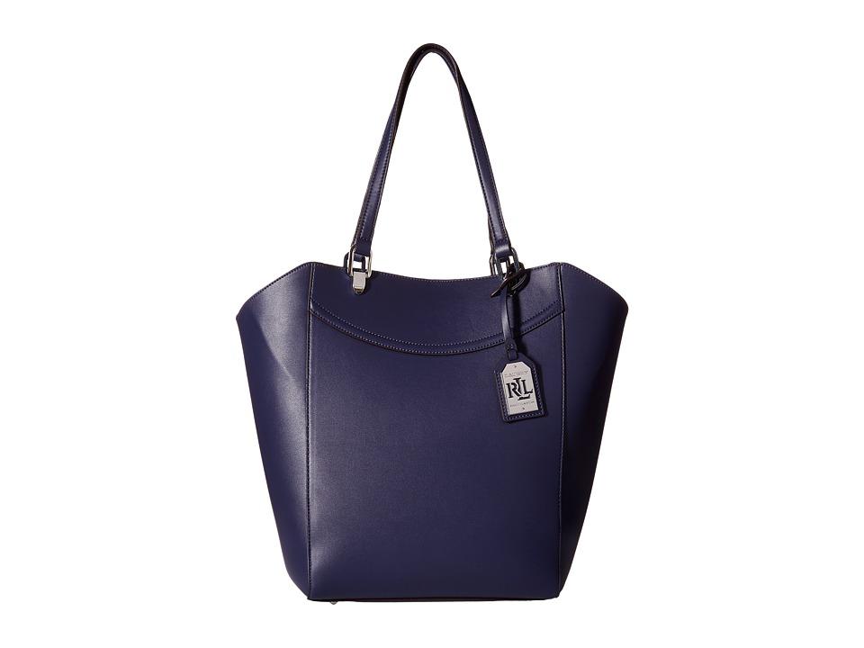 LAUREN by Ralph Lauren - Lexington Tote (Marine) Tote Handbags