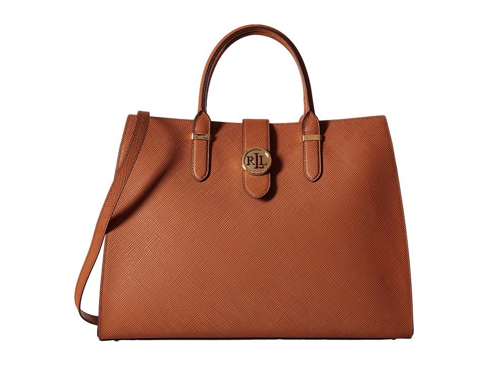 LAUREN Ralph Lauren - Charleston Tote (Lauren Tan) Tote Handbags