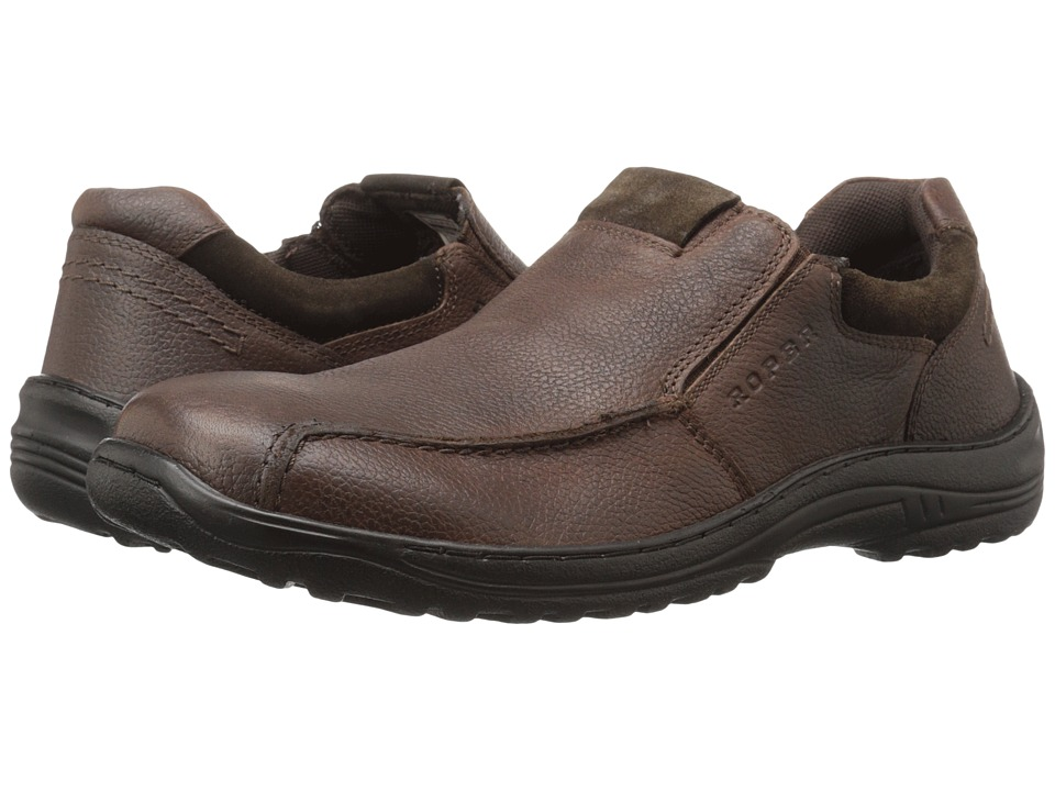 Roper - Burly (Brown) Men's Slip on Shoes